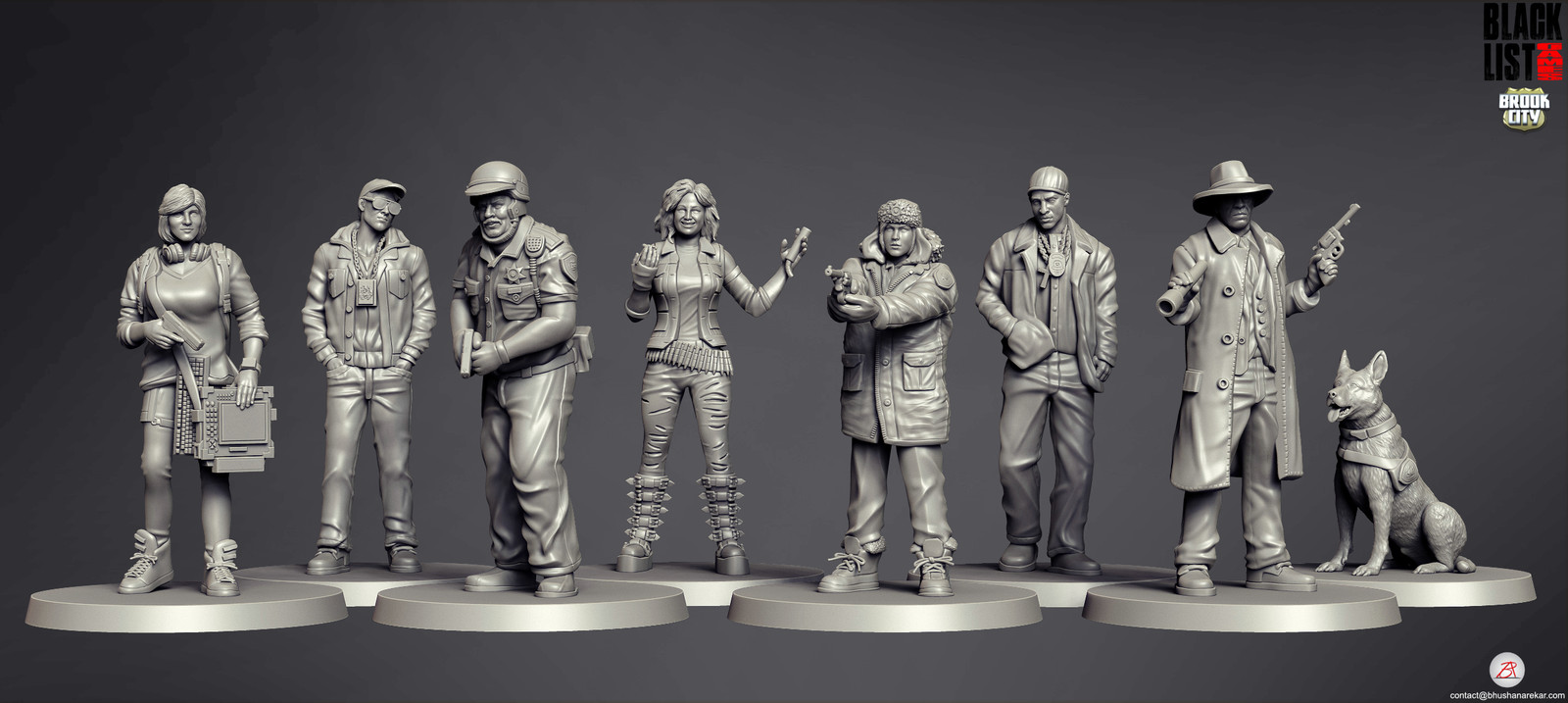Blacklist Games_Brook City_Miniatures