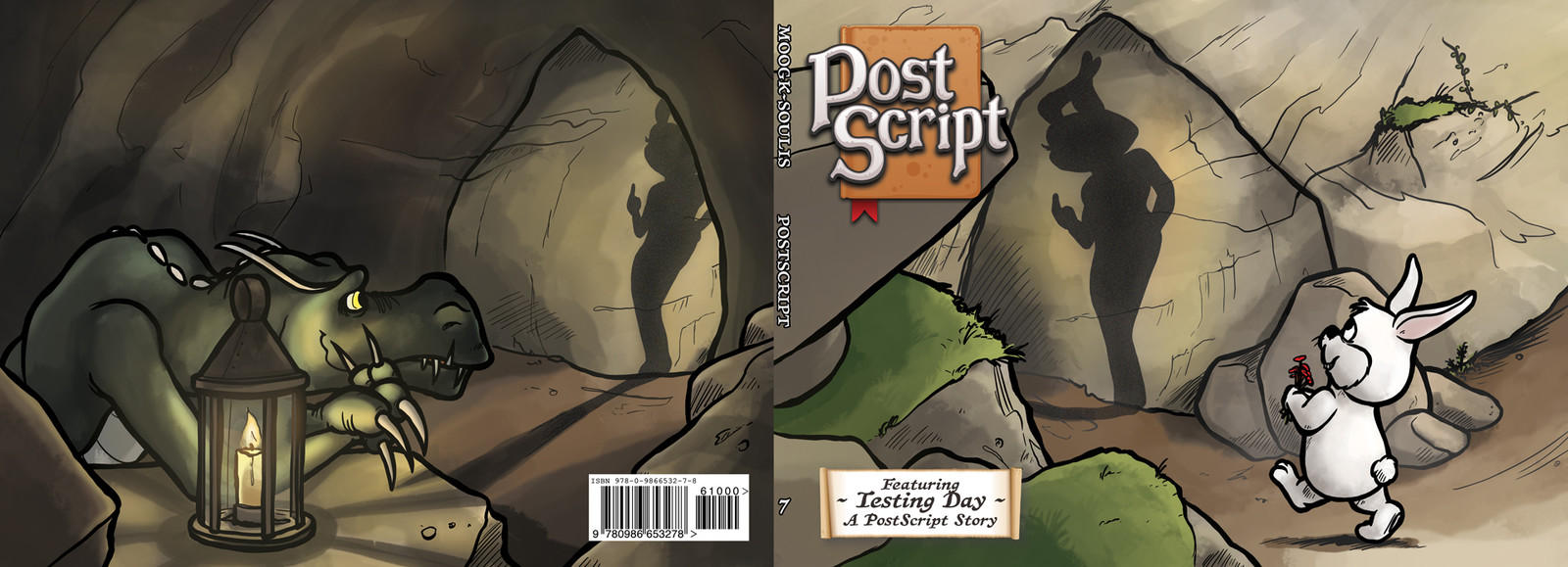 PostScript Book 7 cover with logo, barcode, etc.