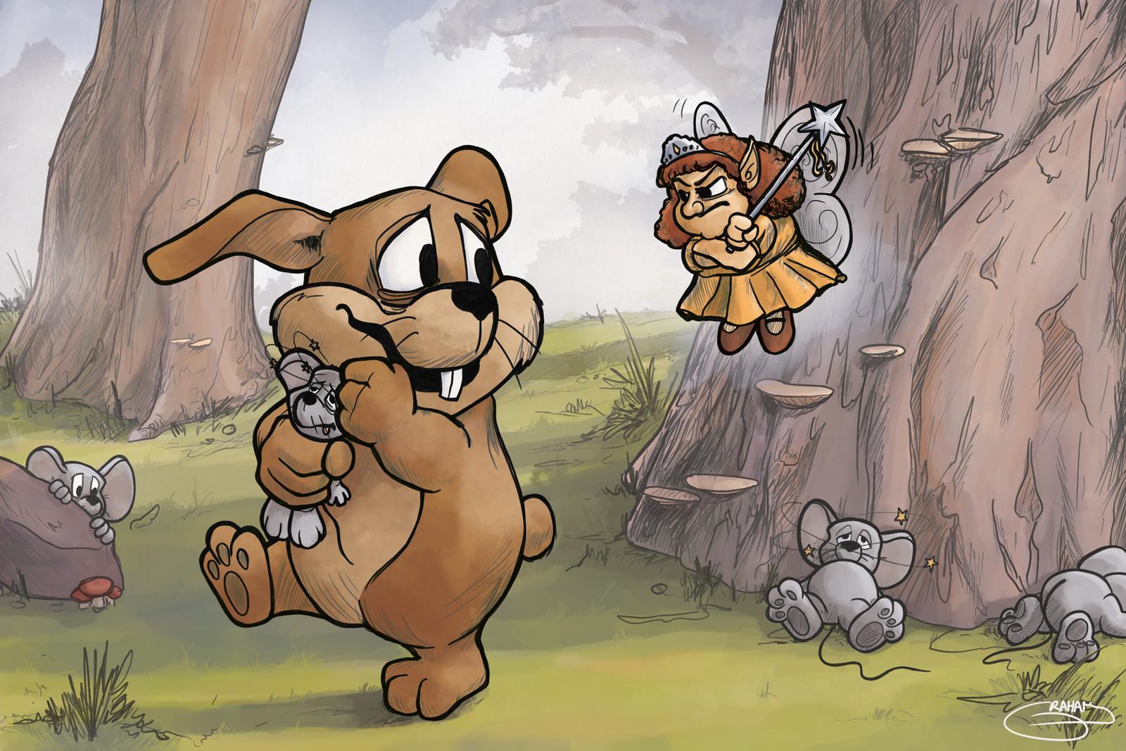 Hare Today (Little Rabbit Foo Foo)