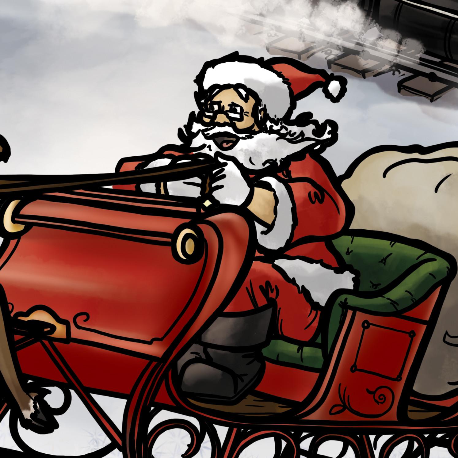 Graham moogk soulis wcr christmas book cover 2015 santa