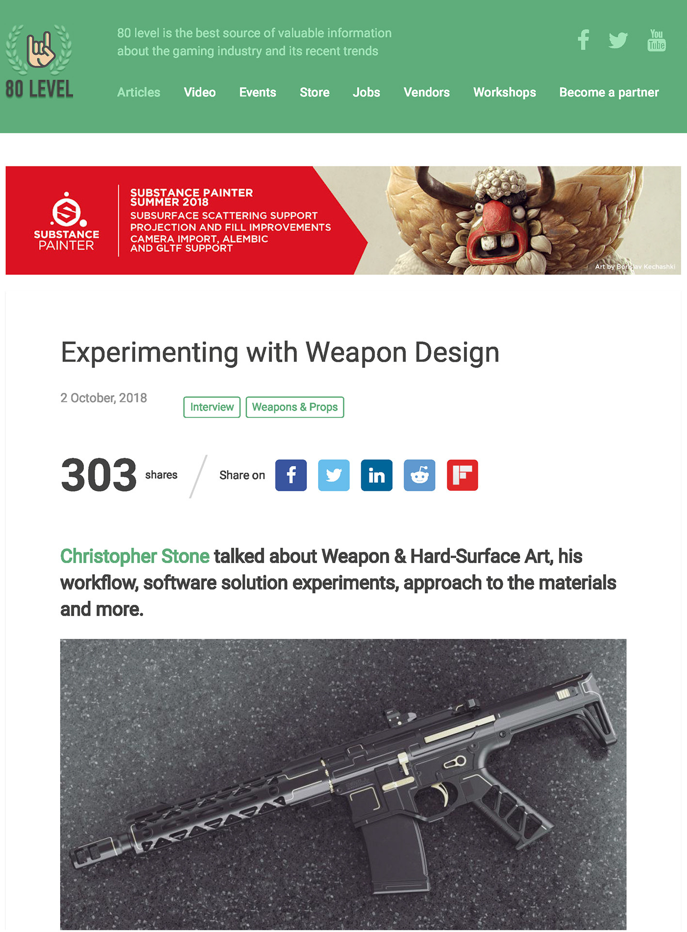Chris stone experimenting with weapon design page 01