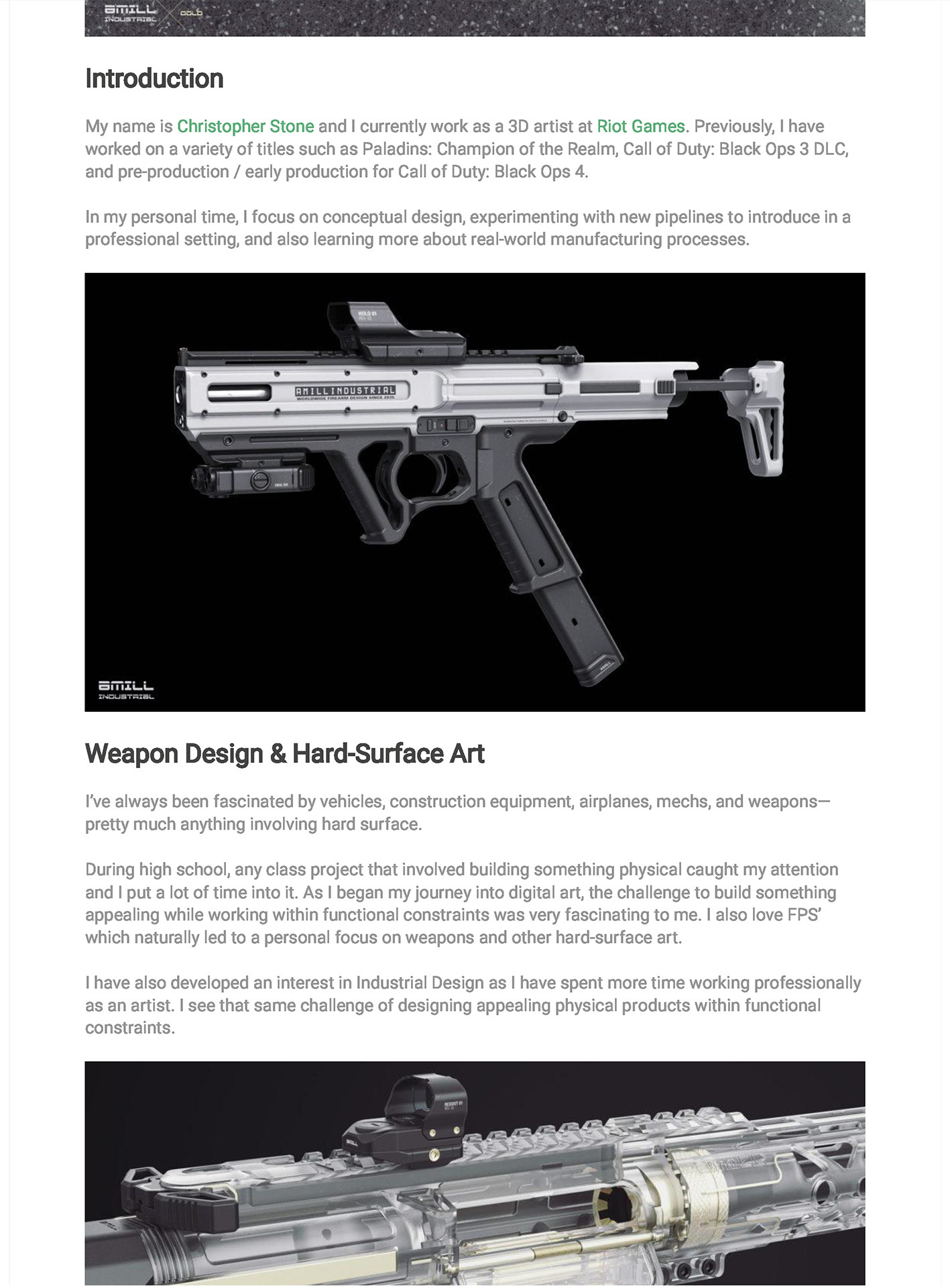 Chris stone experimenting with weapon design page 02