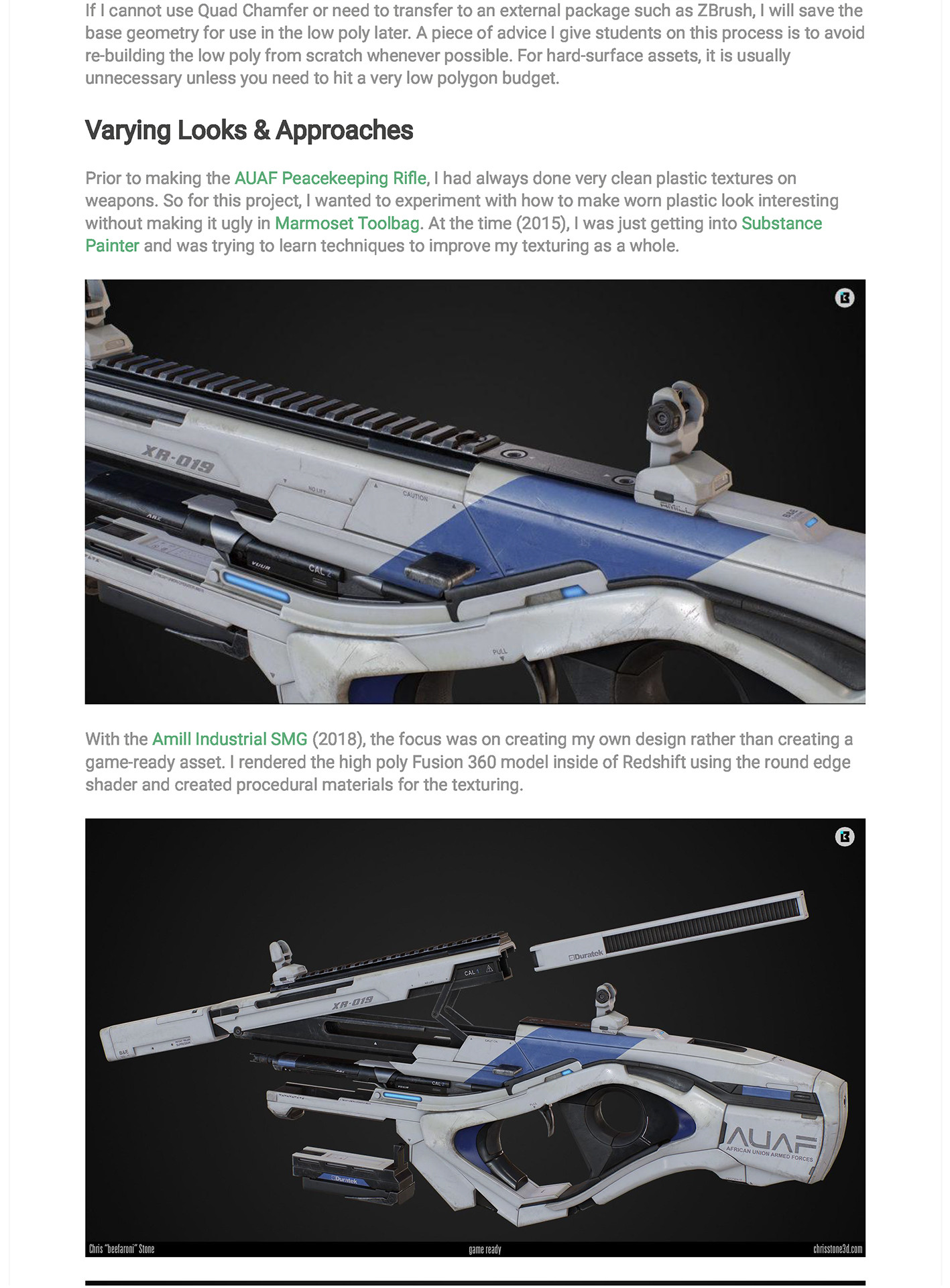 Chris stone experimenting with weapon design page 05