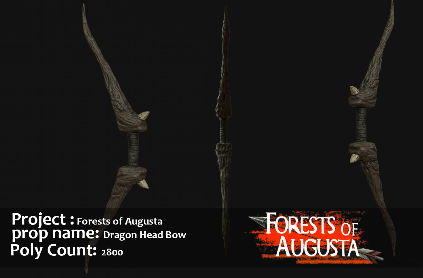 Dragon Head Bow: Project Forest of Augusta