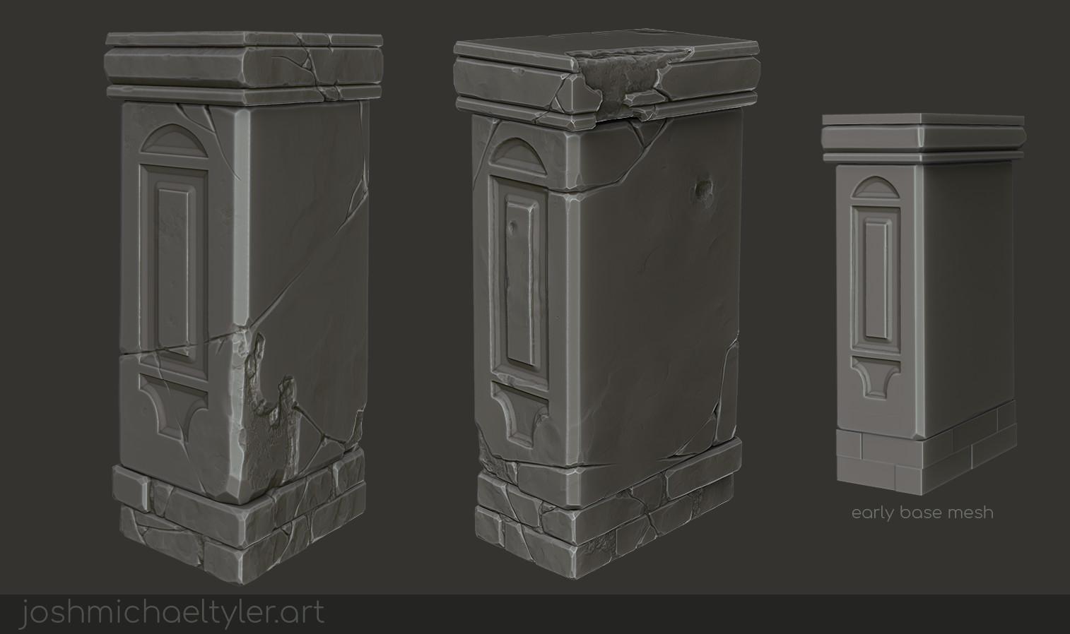 Josh tyler sculptstudy pillar