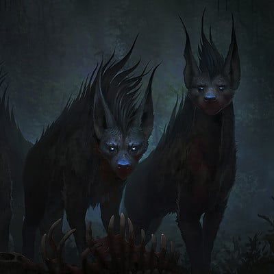 Francis brunet forest hyenas5