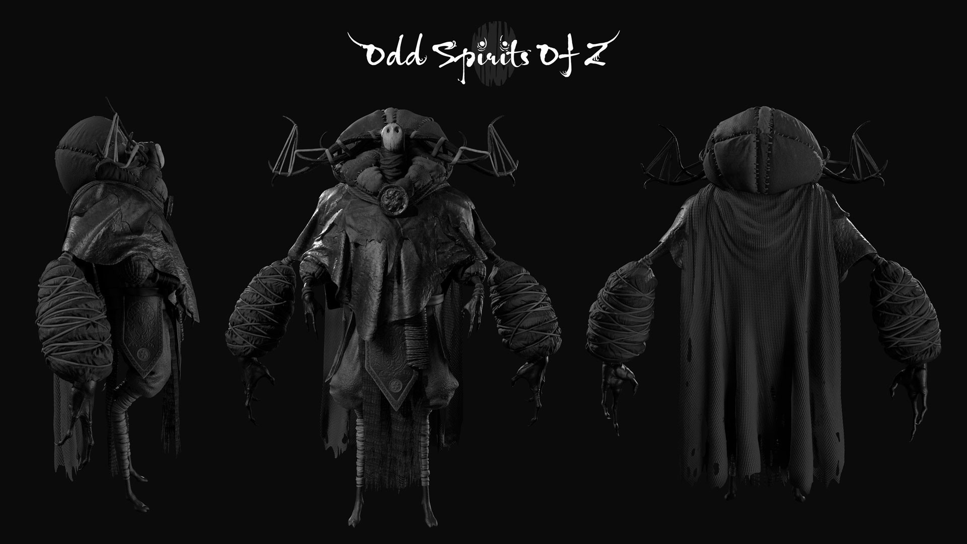 Odd Spirit Character views