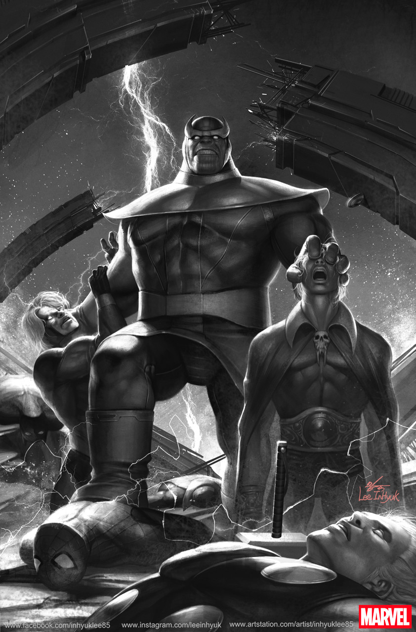 Inhyuk lee infinity origin the thanos wars omnibus