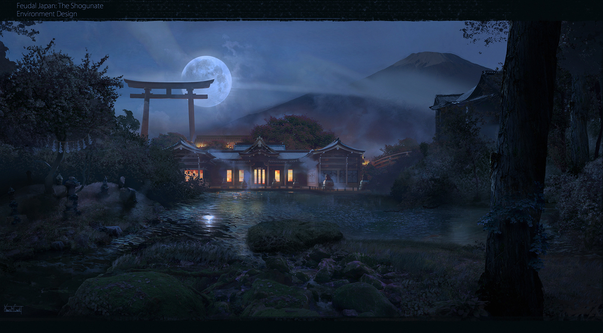 artstation the palace feudal japan the shogunate challenge
