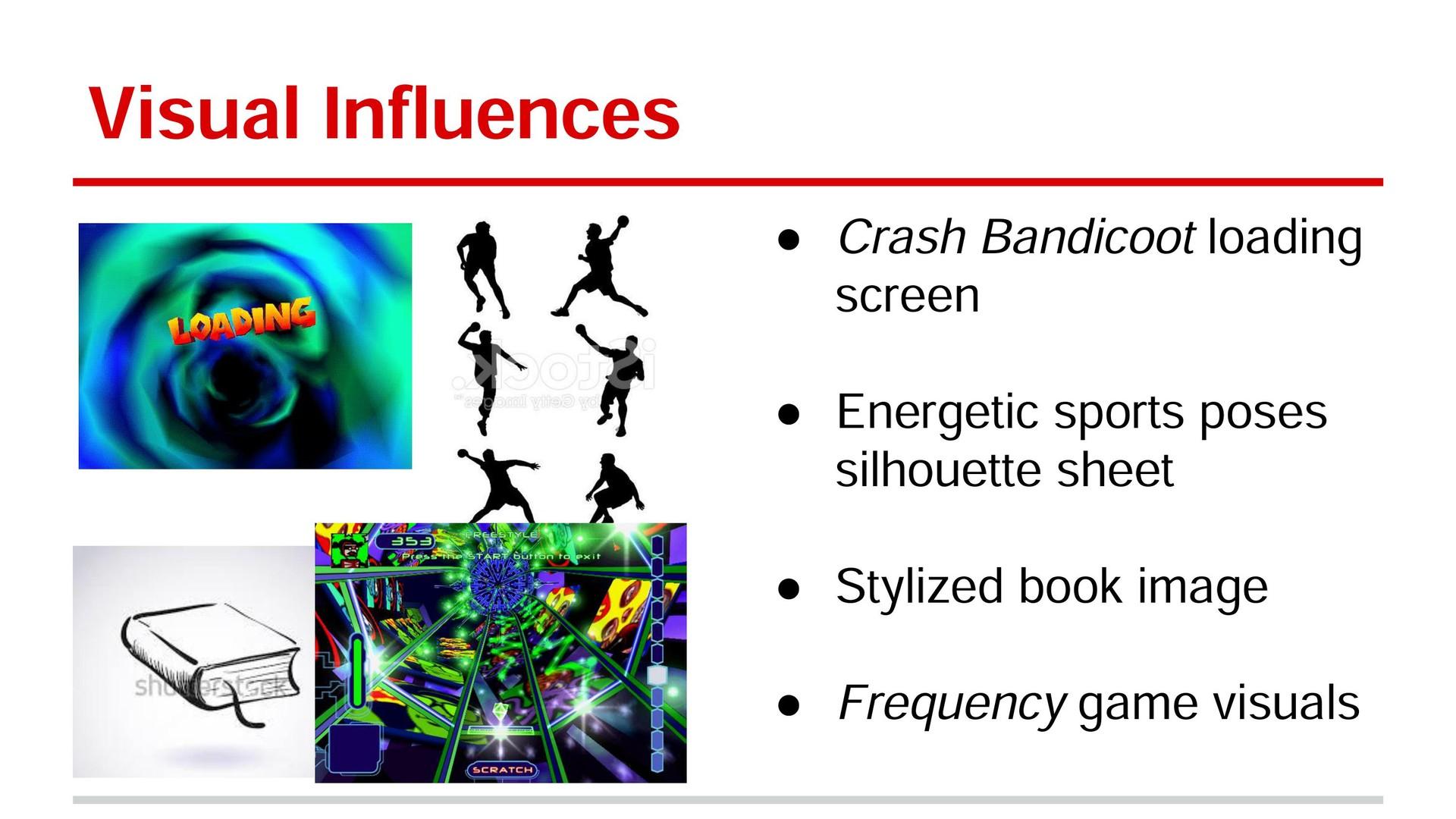Visual Influences Slide