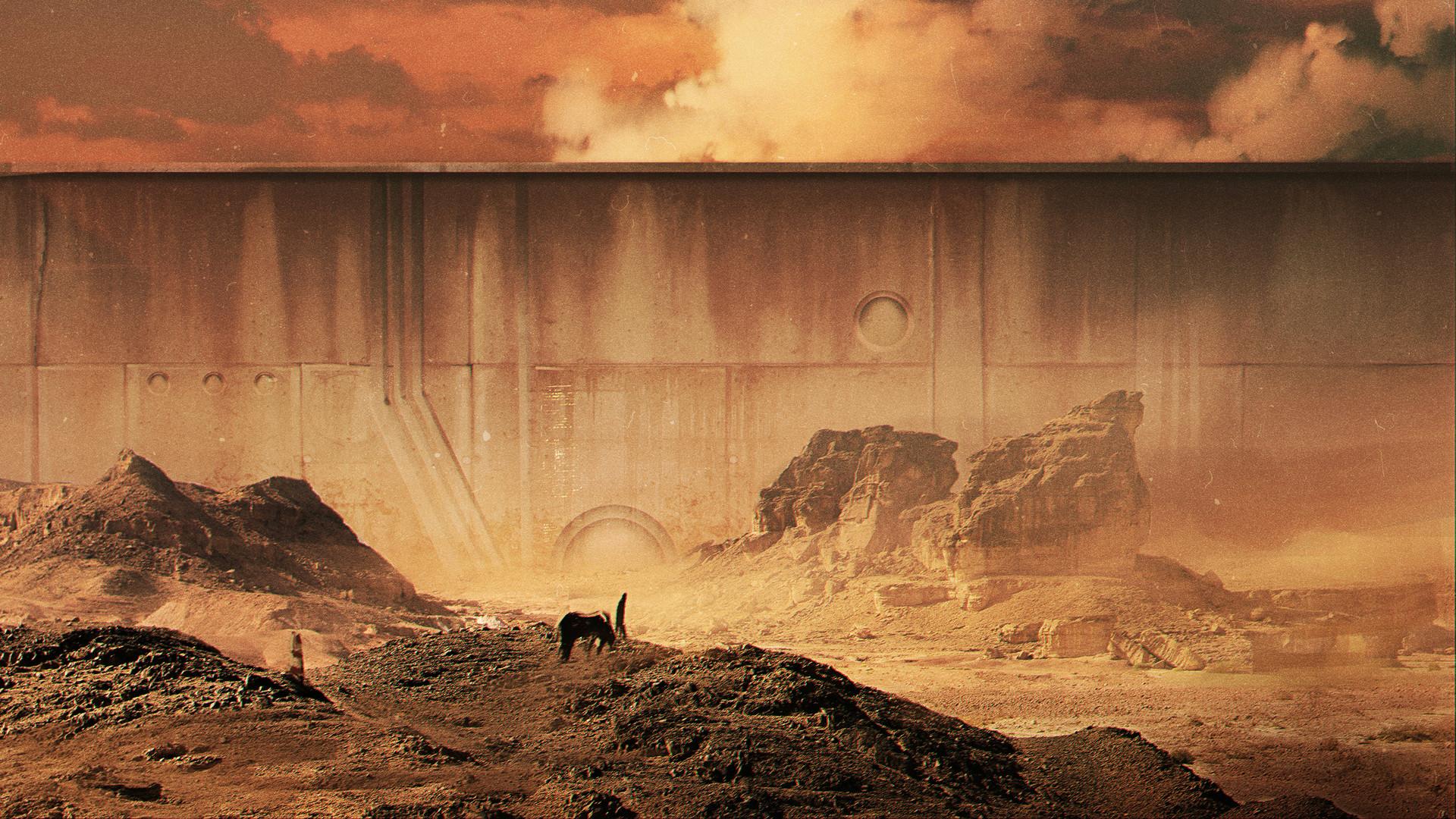 Yeve drovossekova desert wall