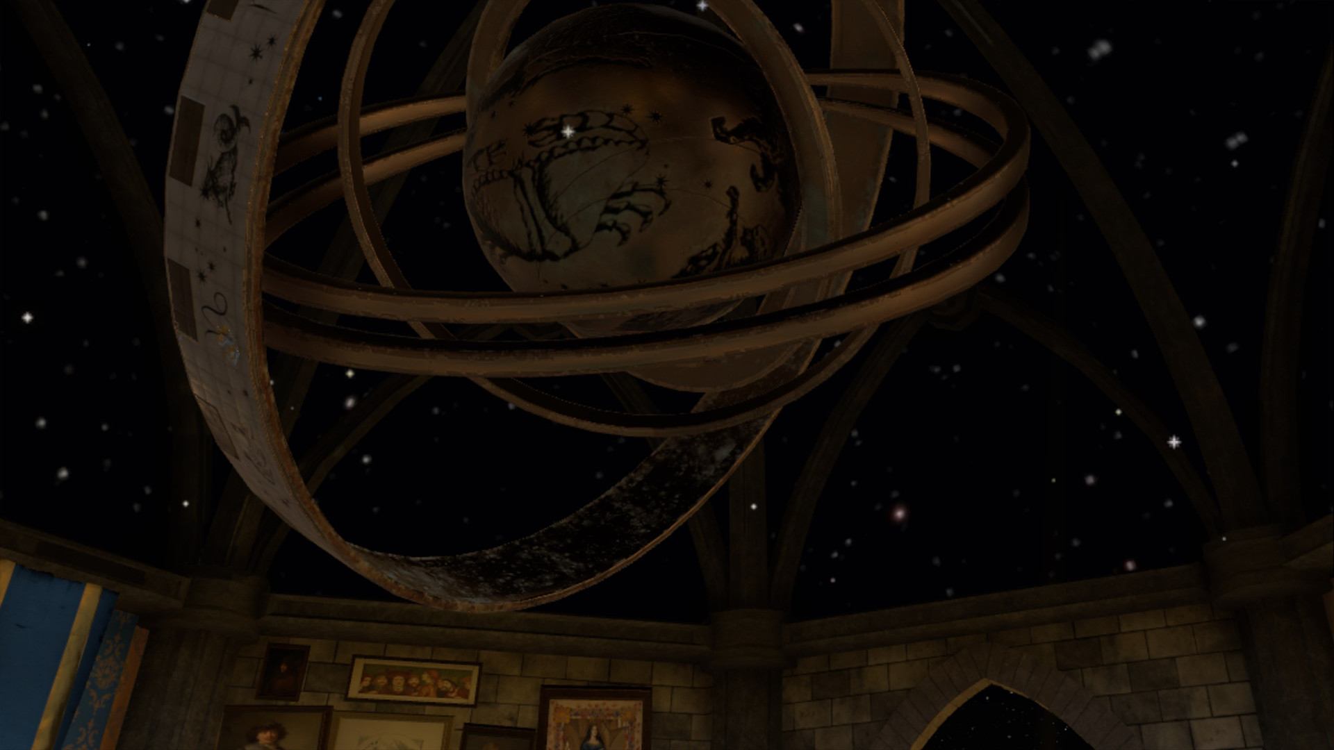 In-game screen capture - celestial globe
