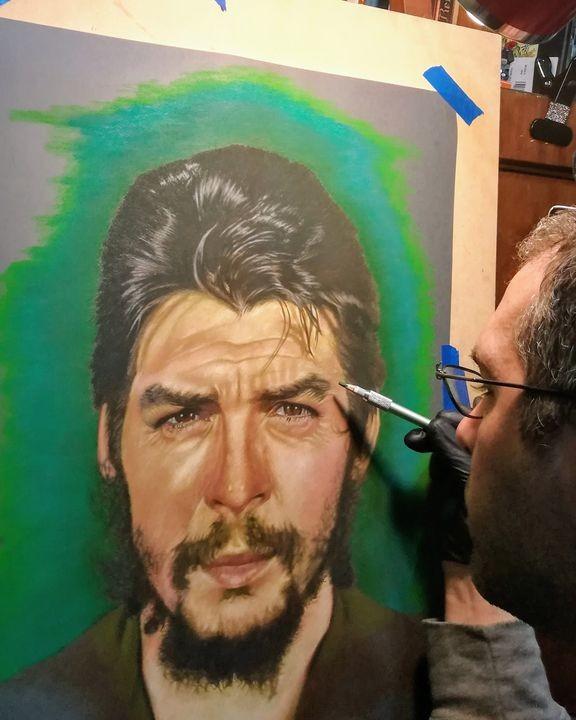 Che Guevara W.I.P pastel