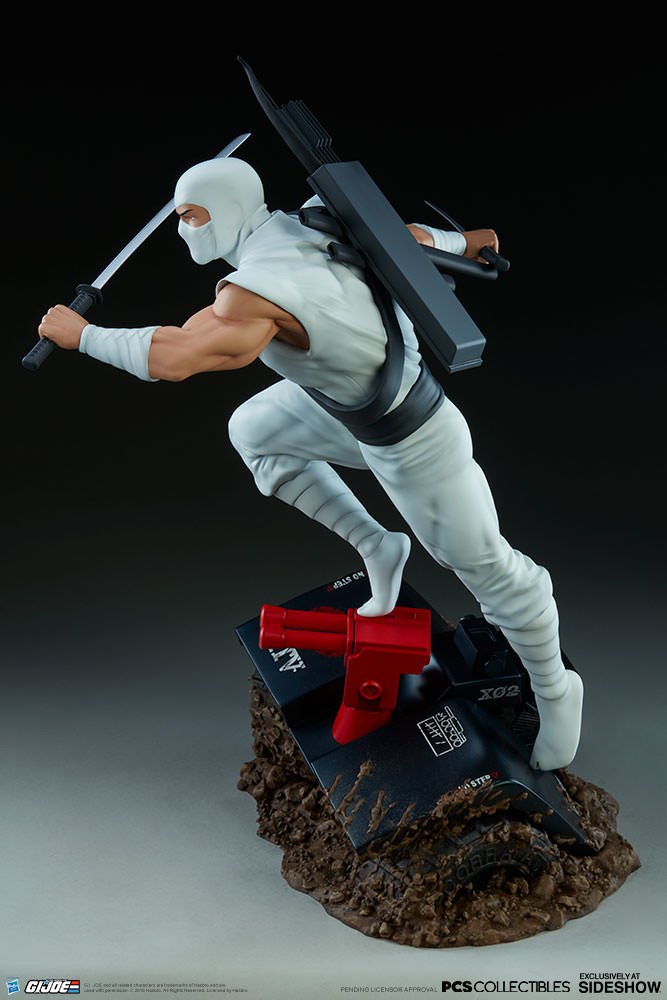 Brodie perkins gi joe storm shadow statue pop culture shock 903808 06