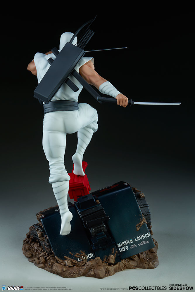 Brodie perkins gi joe storm shadow statue pop culture shock 903808 07