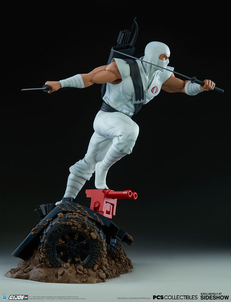 Brodie perkins gi joe storm shadow statue pop culture shock 903808 09