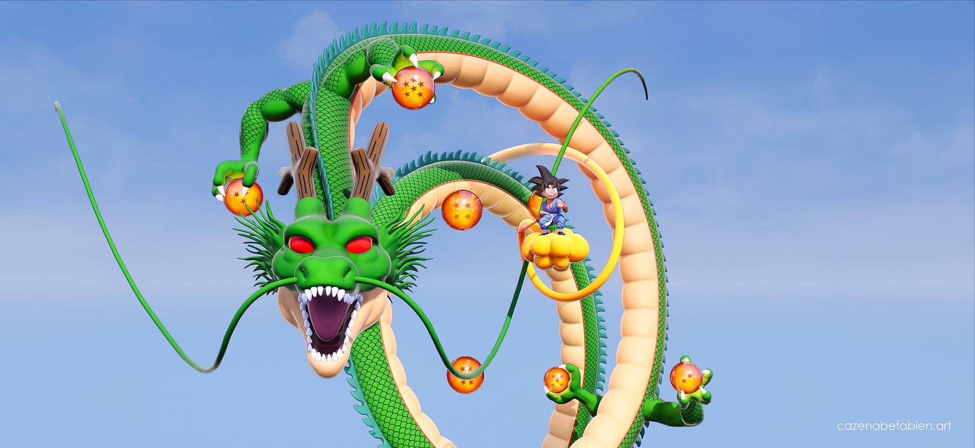 Fabien cazenabe sangoku dragon ball sculpt zbrush unreal 3d 01