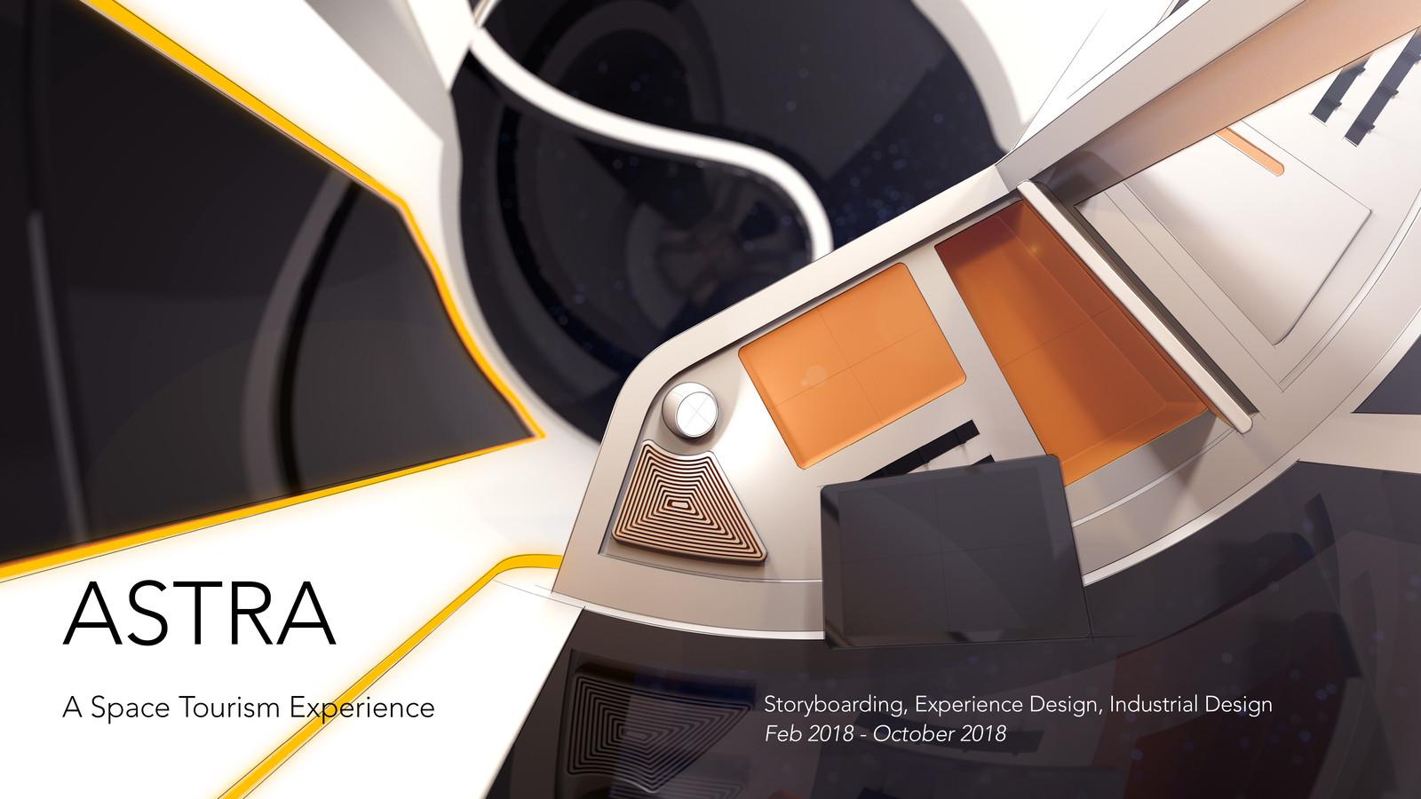Astra: Space Tourism Interior