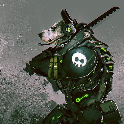 Benedick bana dog cyber lores