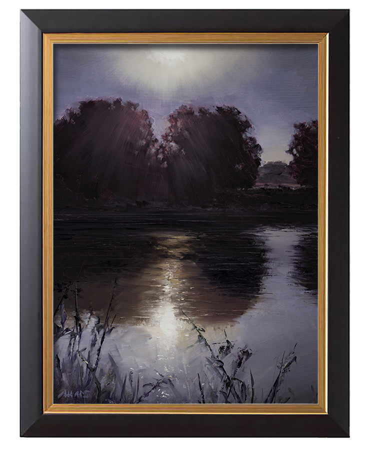 Arthur haas morning glory framed small