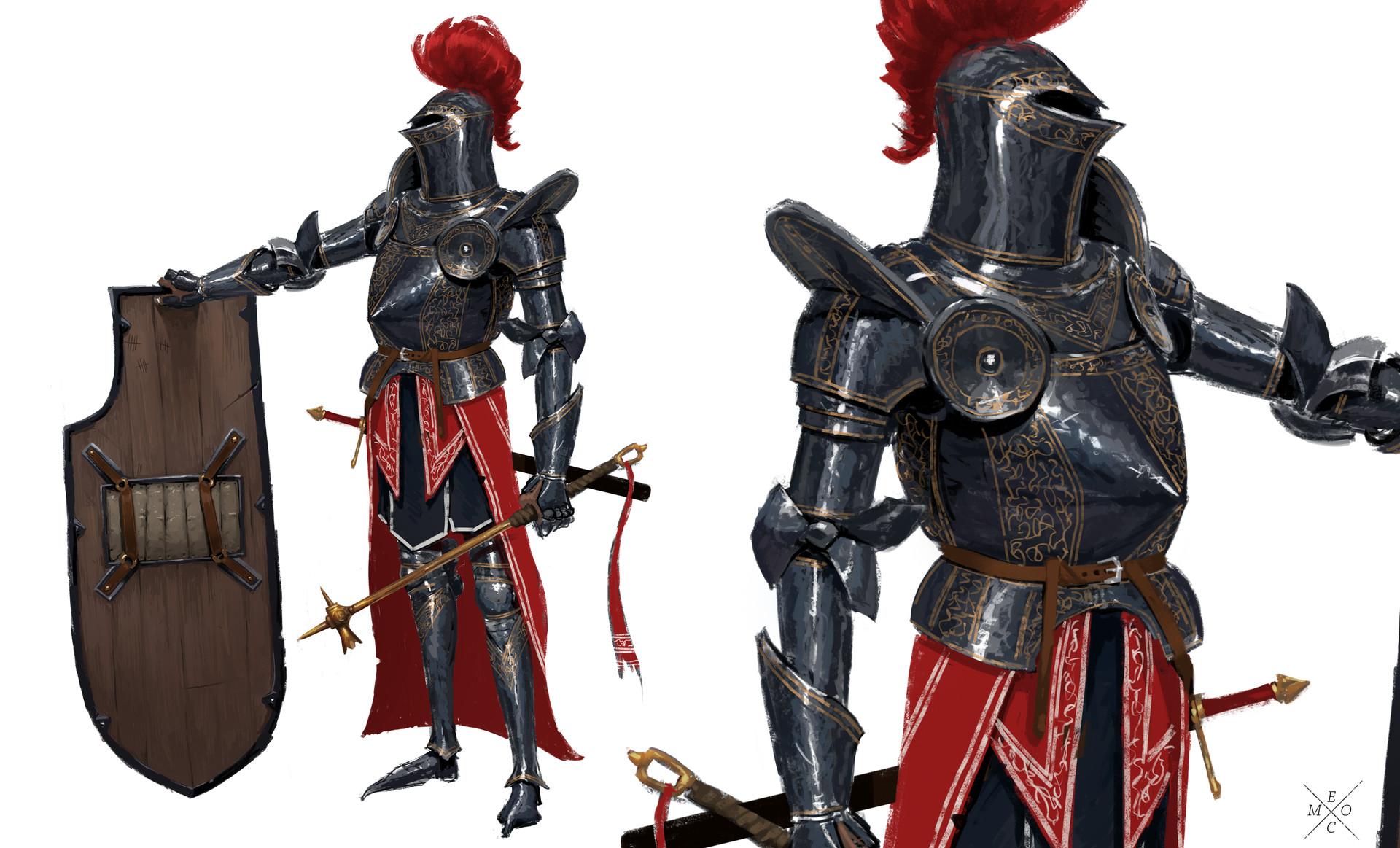 Erlend capodanno shieldy red