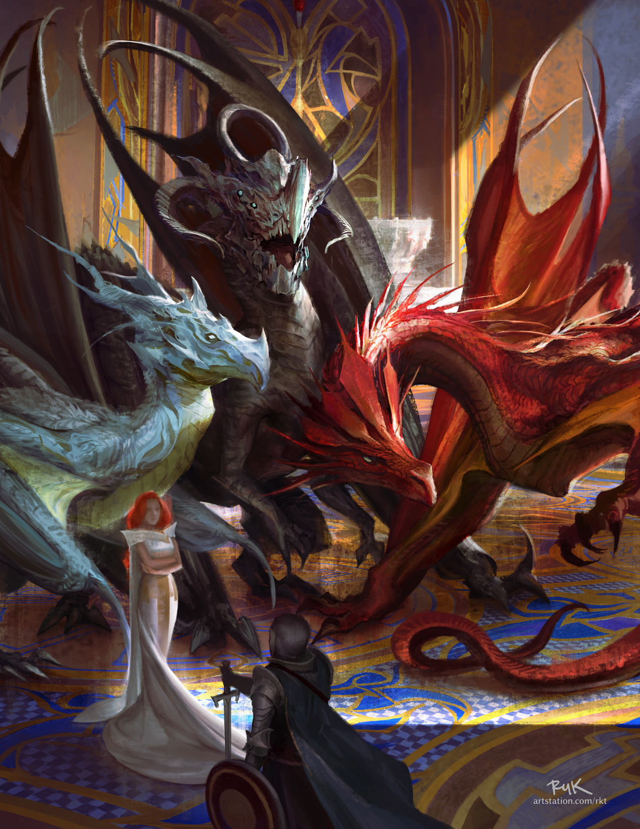 Ruk trumata dragoncourt foruplox