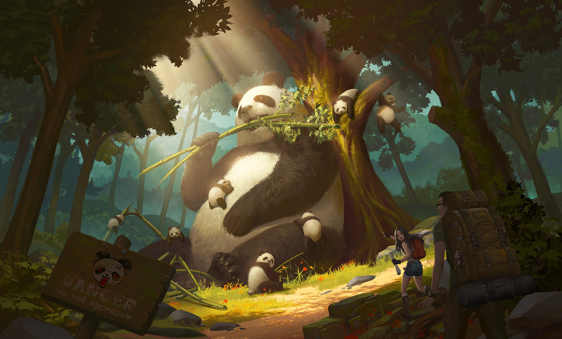 Puz lee panda kingdom