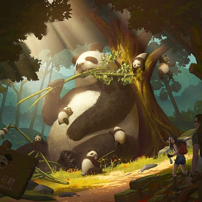 Puz lee panda kingdom
