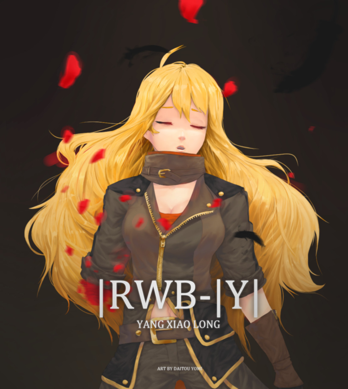 Yang Xiao Long Wallpaper: Rwby Yang Xiao Long Fanart