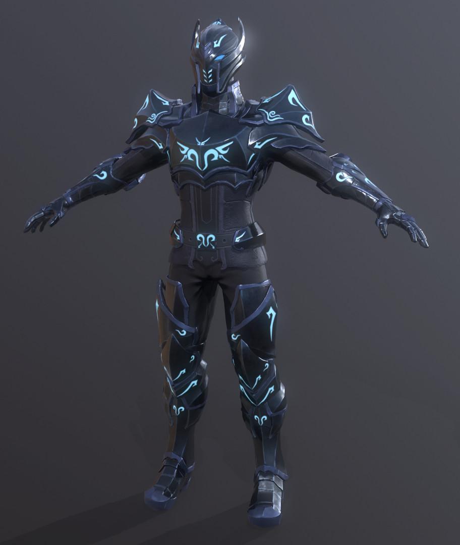 Bruno Sidarta Shadow Armor For A Medieval High Fantasy Theme