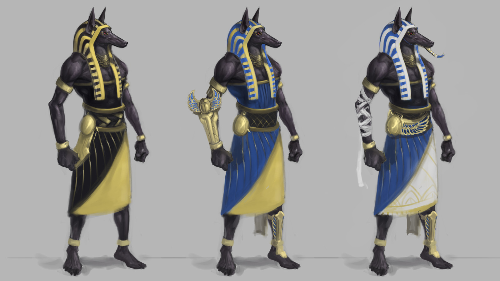 Pharaoh Nasus Sketches