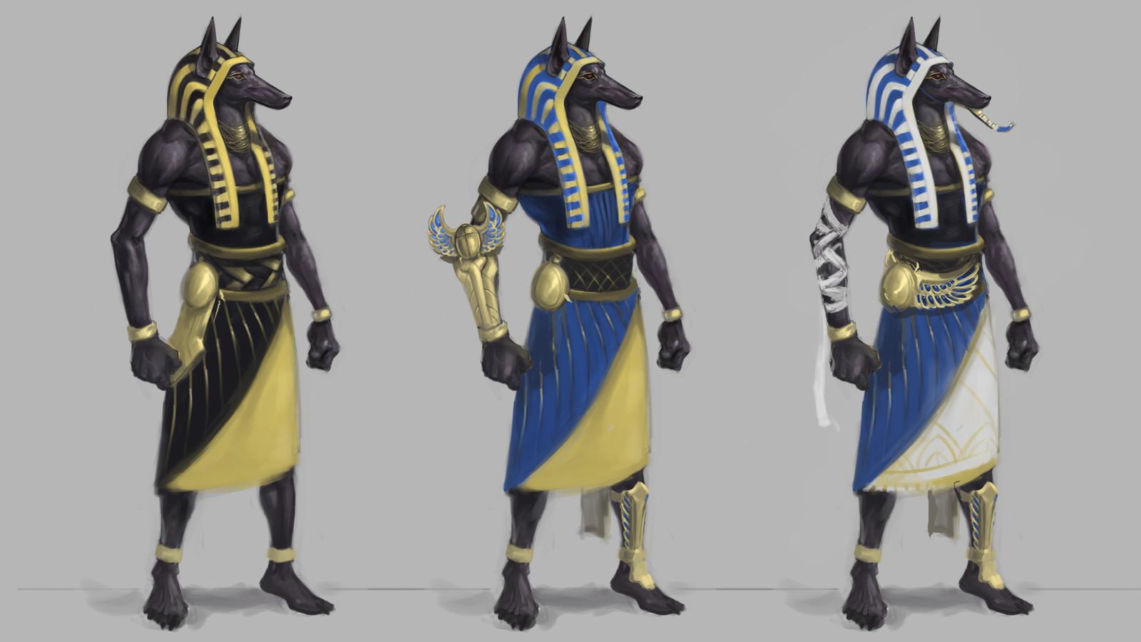 Pharaoh Nasus Sketches