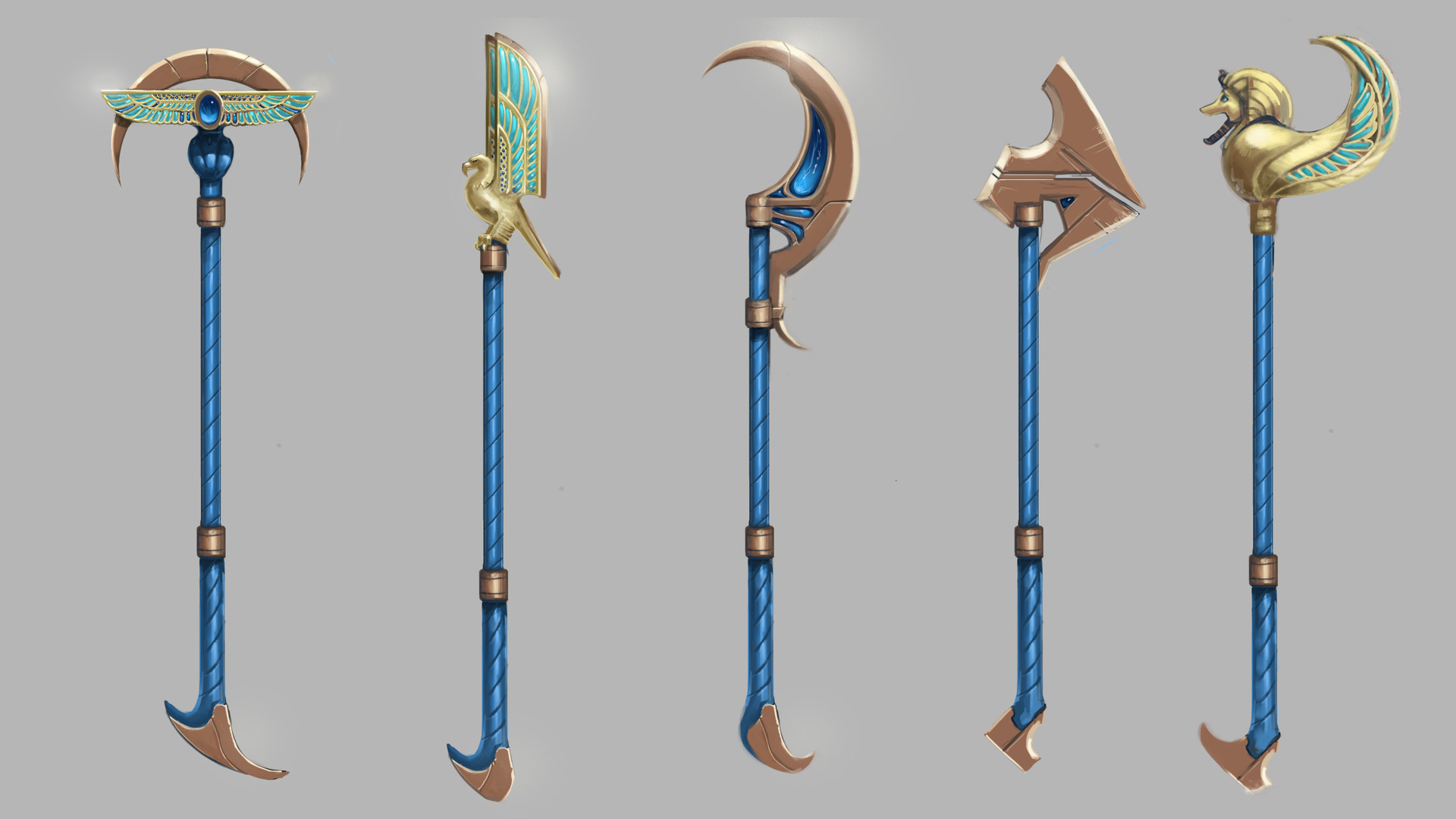 Carlo spagnola nasus pharoh weapons