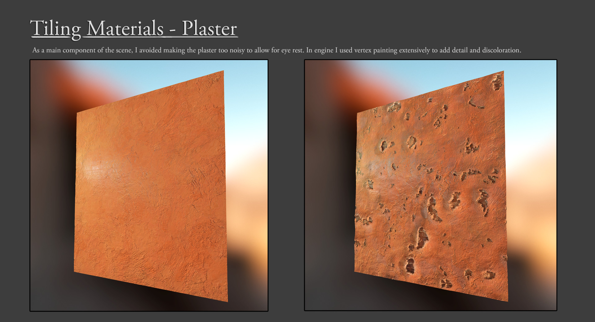 Olle norling tiling walls renders 2