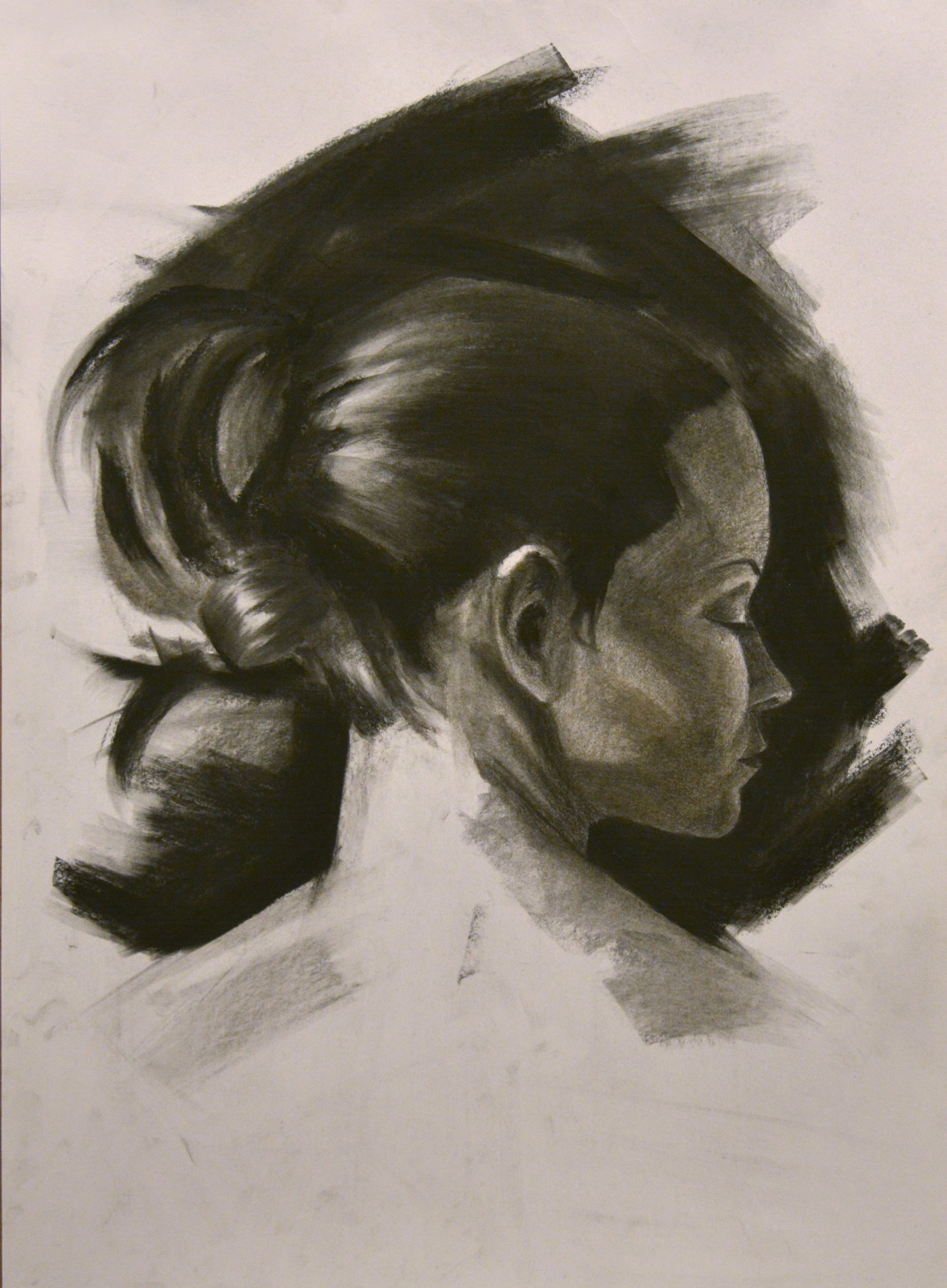 Charcoal Portrait II