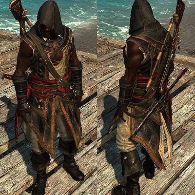 Sabin lalancette ac4 adewale assassin outfit