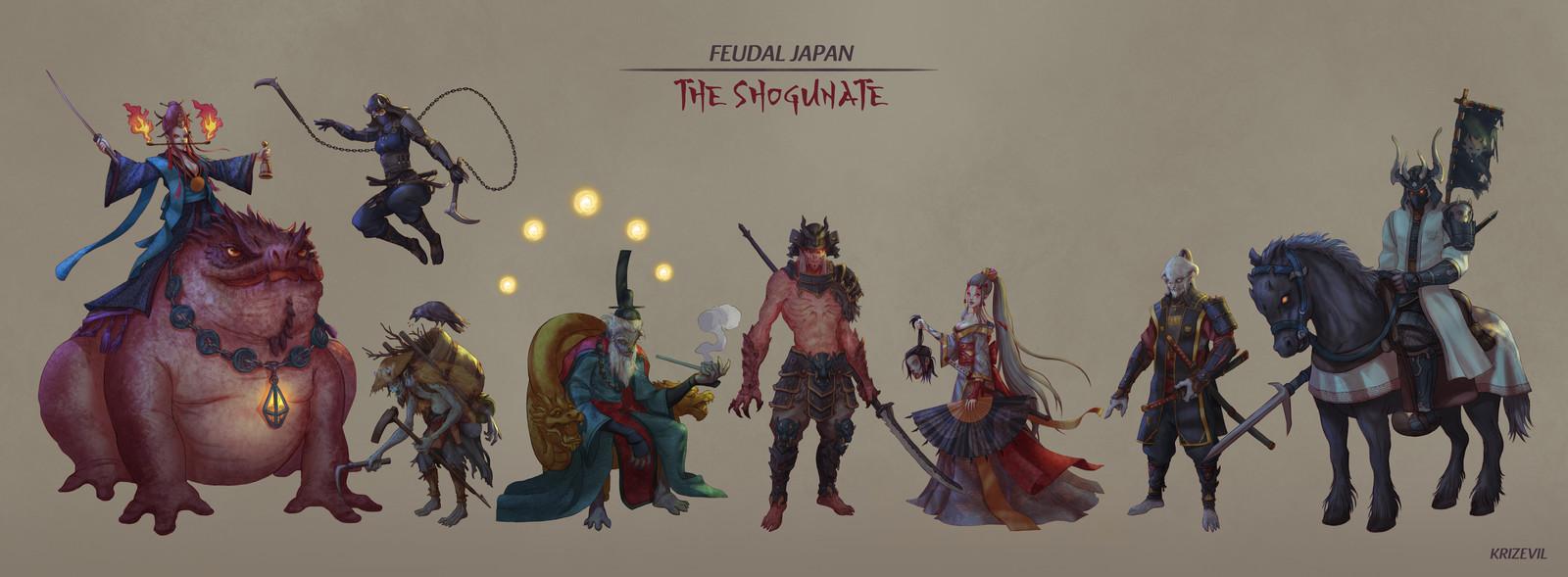 Feudal Japan: The Shogunate