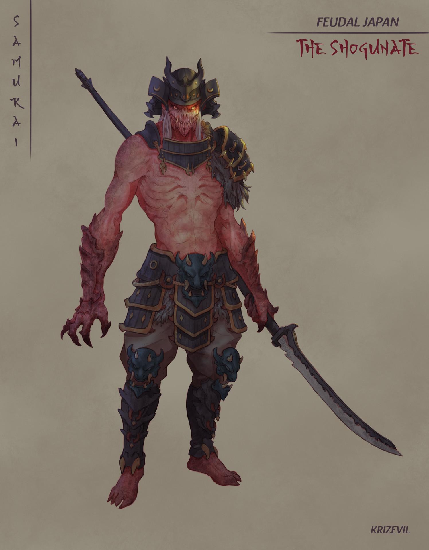 Christian villacis 01 samurai