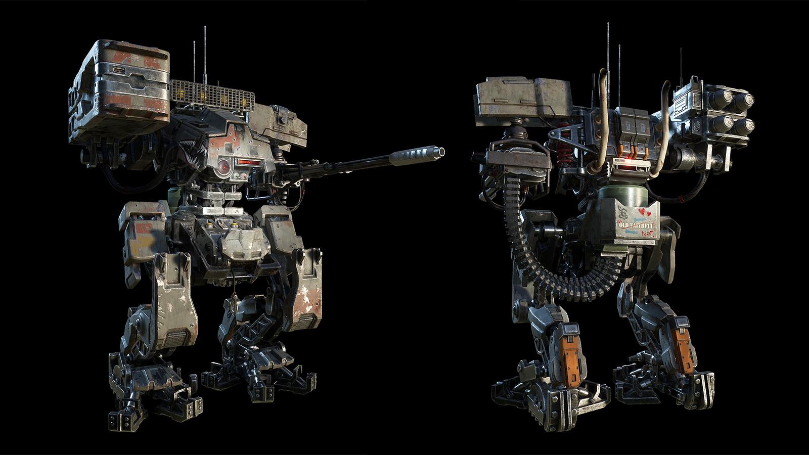 Final in engine mech model