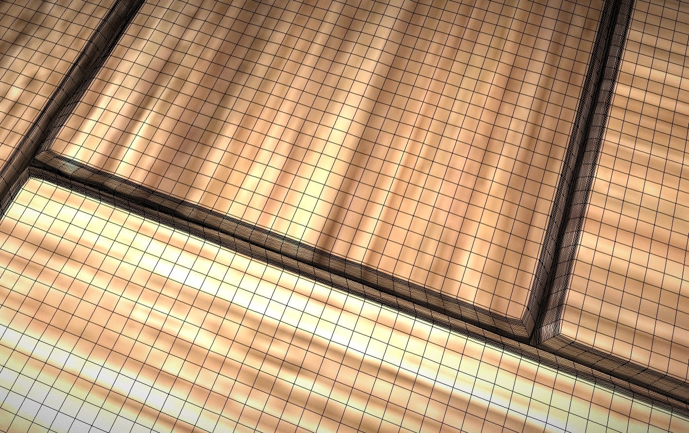 Parquet Floor (High-Poly) For Texture Baking