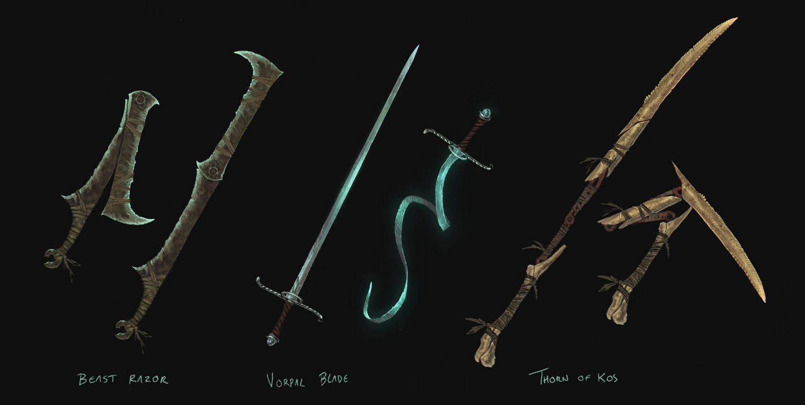 Bloodborne Trick weapons fan concepts