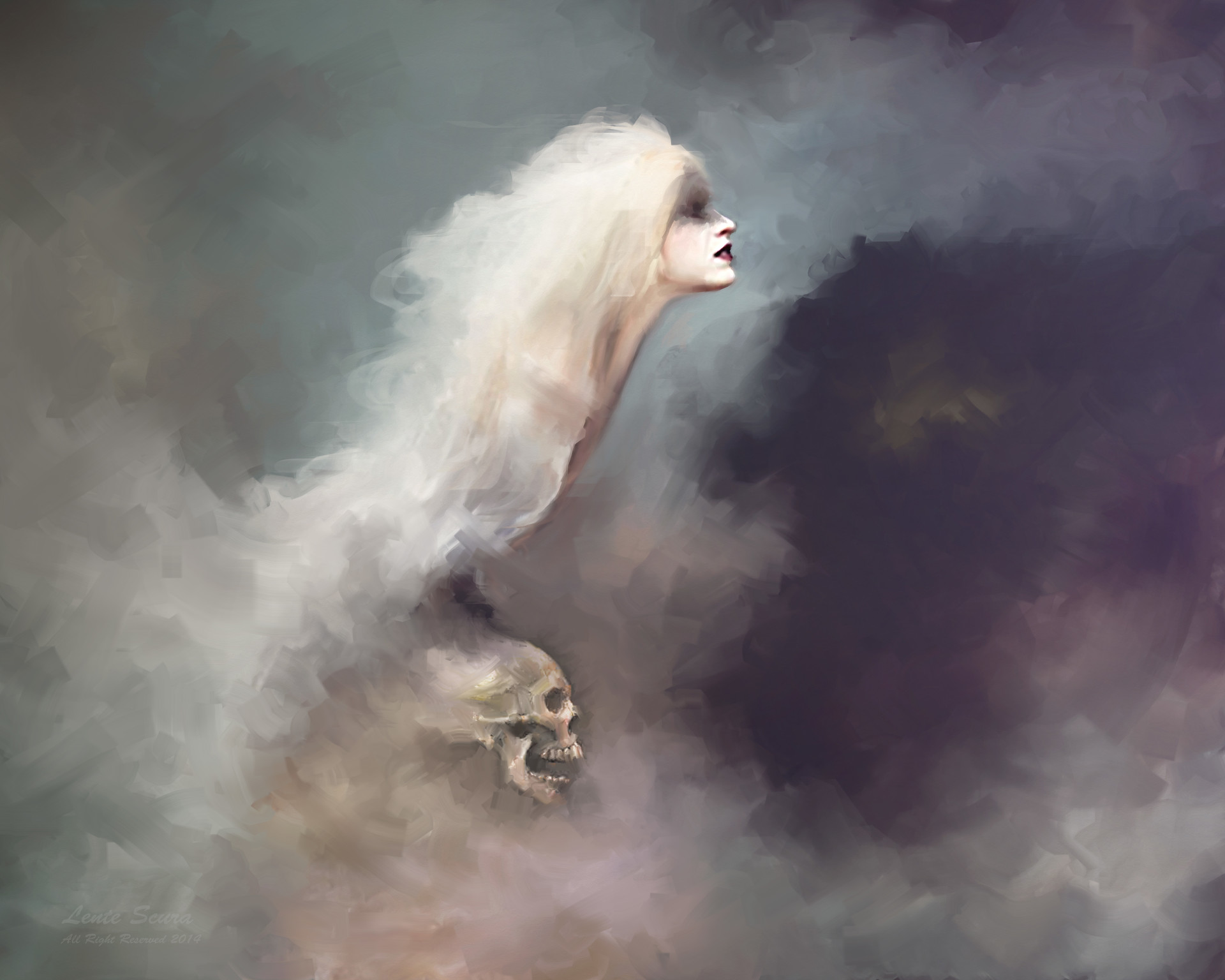 L e n t e s c u r a la regina del sesso e della morte