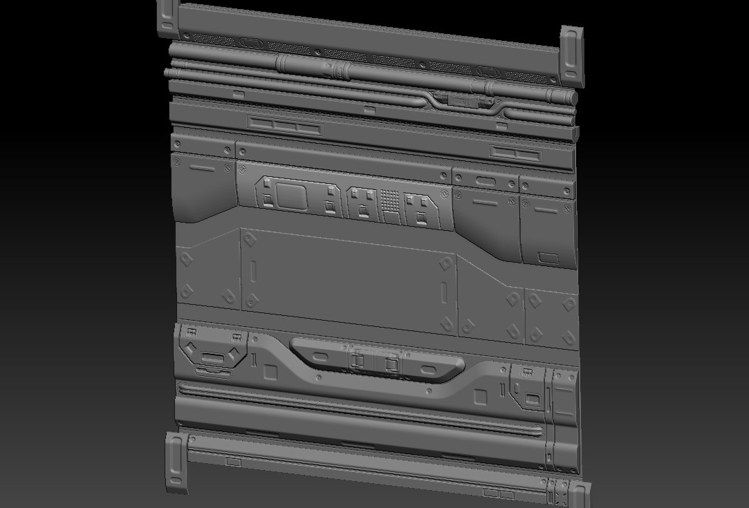 Wall on Zbrush