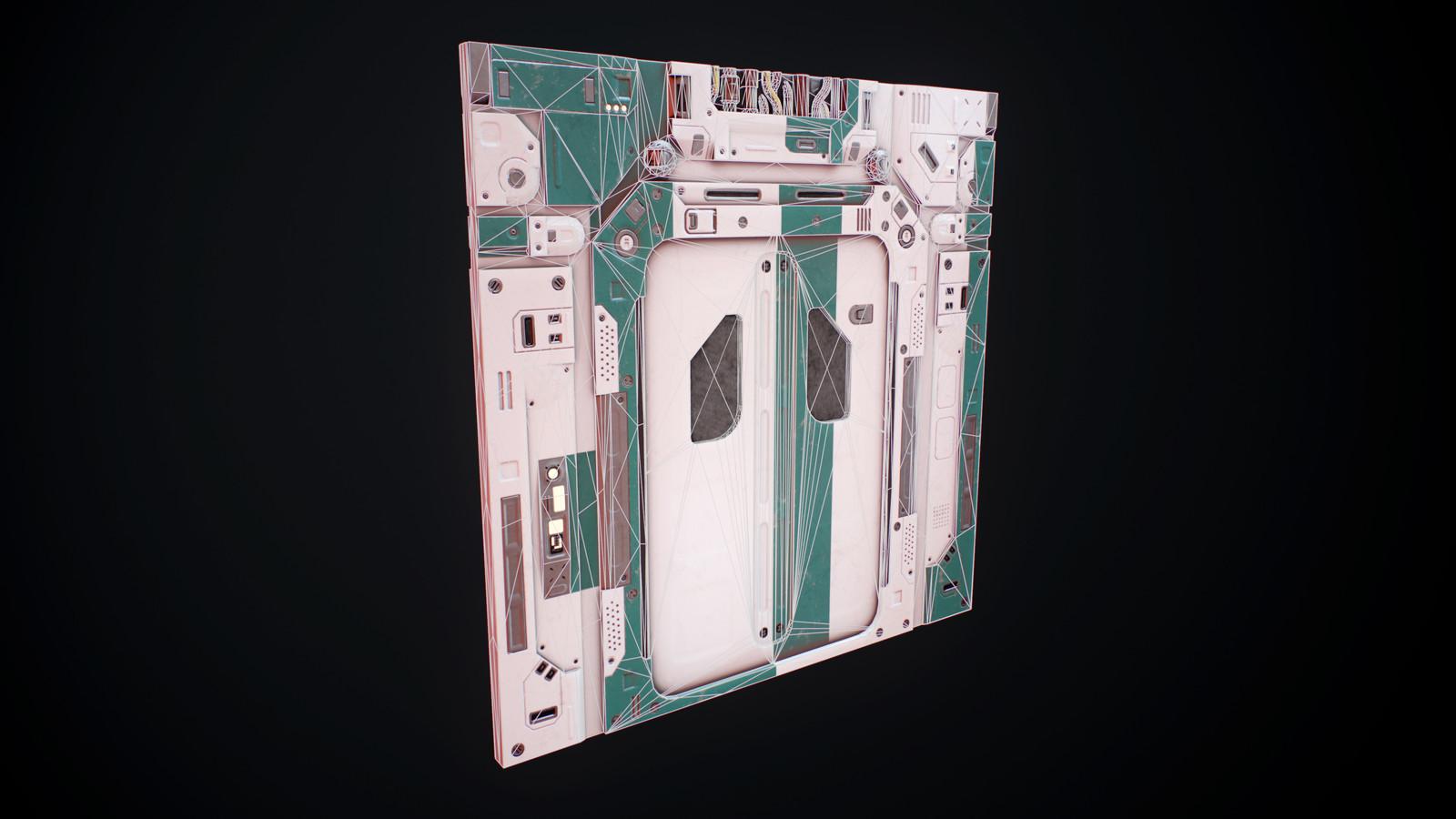 Door wireframe
