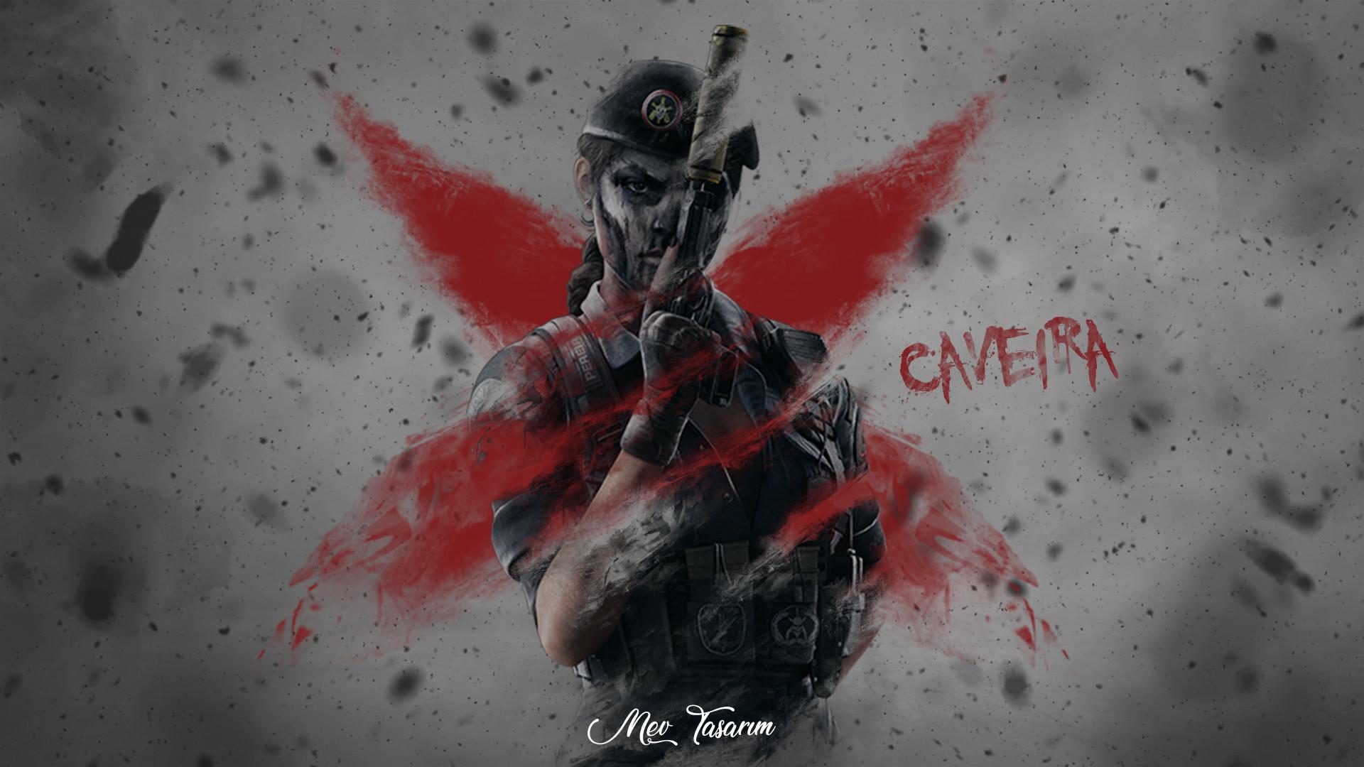 Mustafa Eren Vural Rainbow Six Siege Caveira Wallpaper Mev