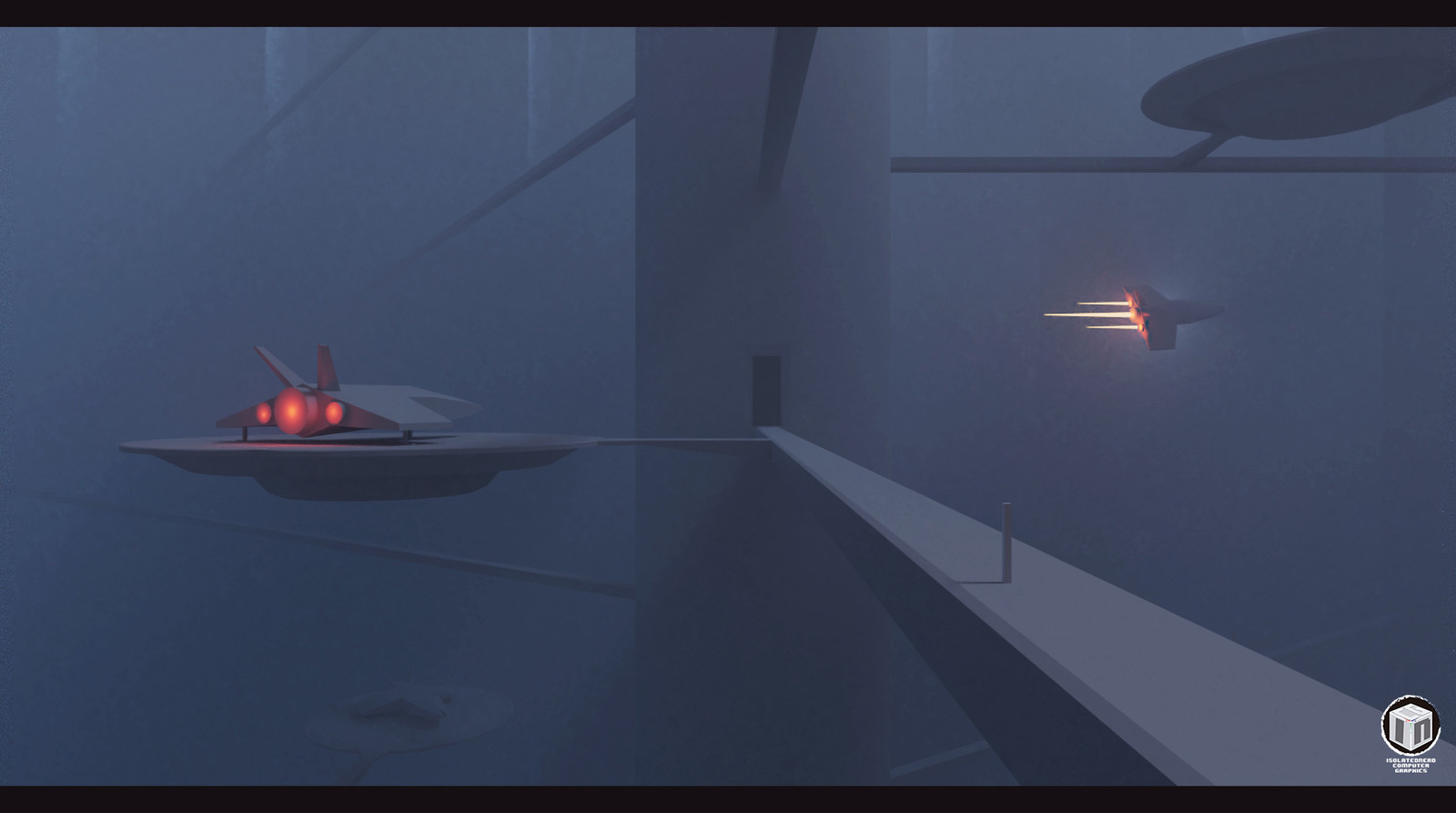 Scifi Excersice 001 - Landing Port