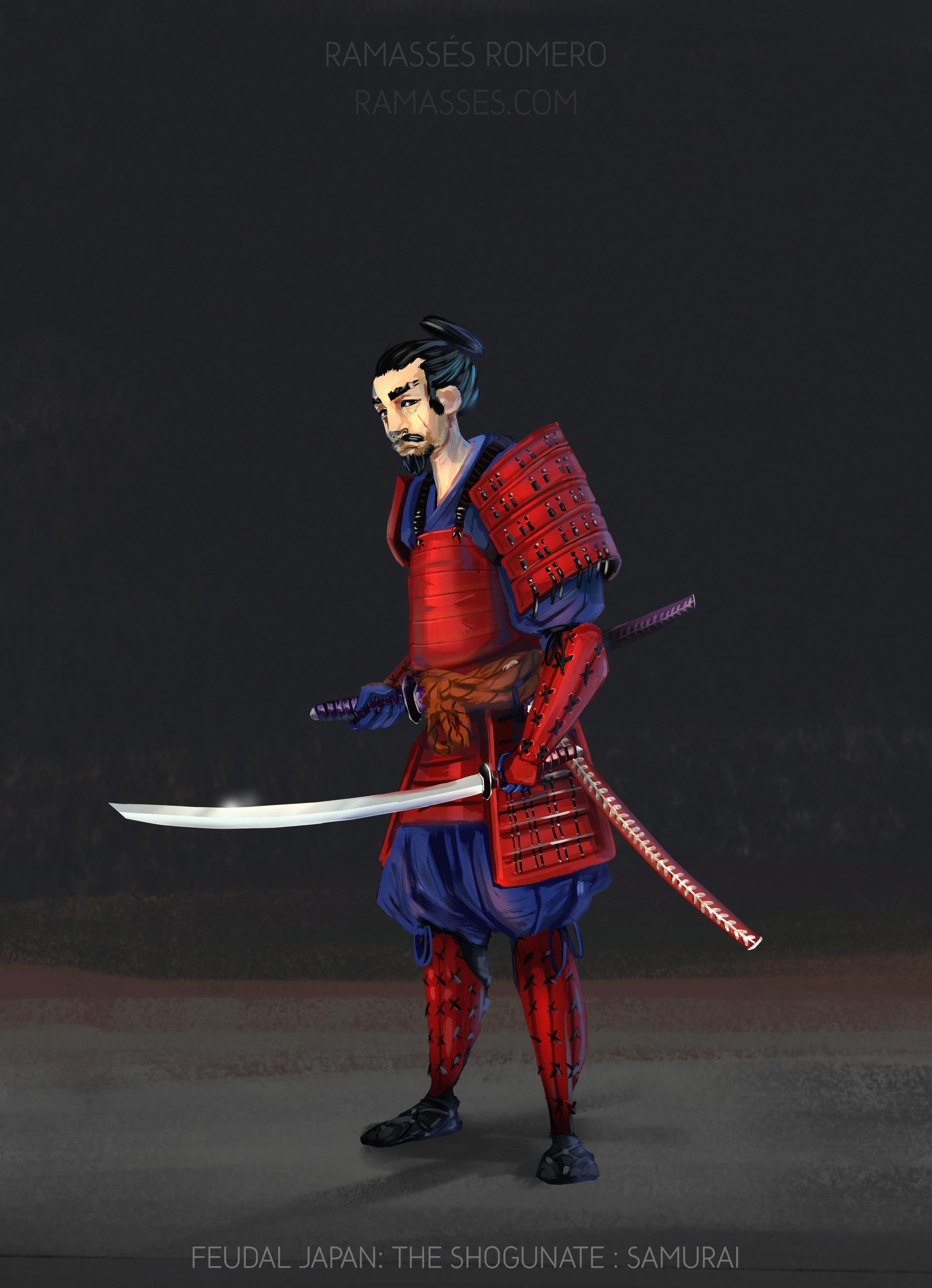 Ramasses romero shogunateexport samurai
