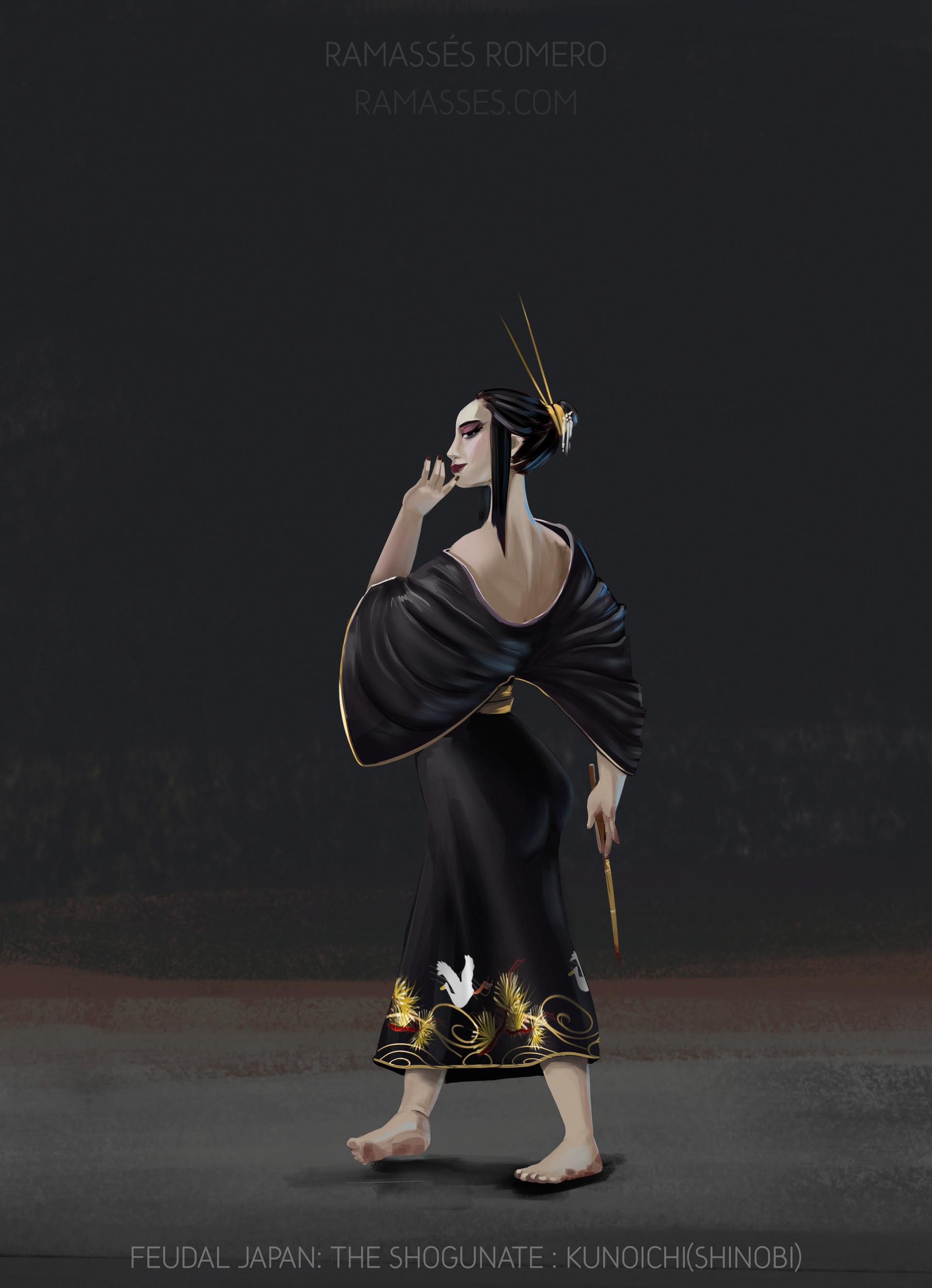 Ramasses romero shogunateexport kunoichi