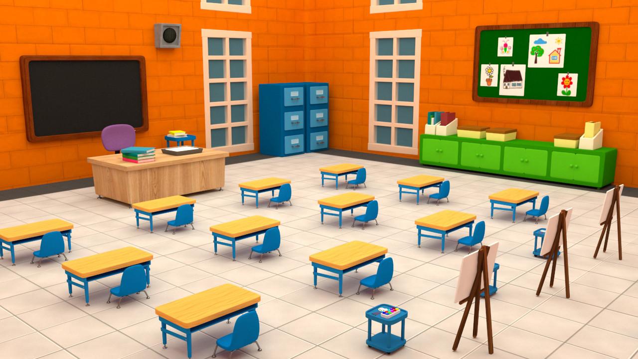 Meghaa Patil - Classroom Interior | Classroom Interior Ideas Design ...