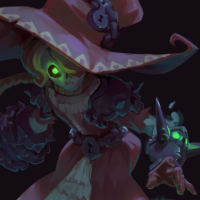 Pedro kruger garcia ghost witch
